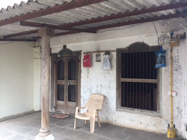 Front veranda of old type house